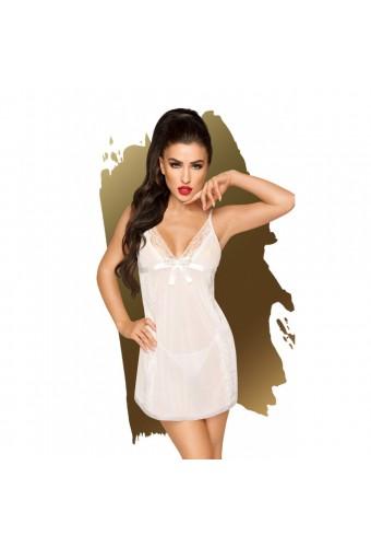 Nuisette et string Blanc Casual seduction - PH0015WHT