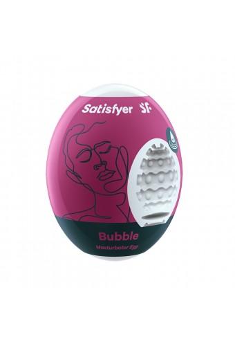 Oeuf masturbateur flexible Bubble Satisfyer - CC597014