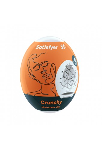 Oeuf masturbateur flexible Crunchy Satisfyer - CC597408