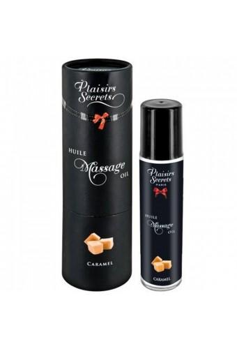 Huile de massage comestible caramel 59ml