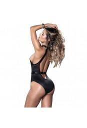Body noir avec harnais intégré - MAL8513BLK