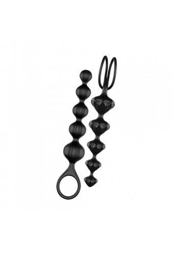 Lot de 2 chapelets noirs Love Beads Satisfyer - CC597111