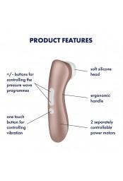 Stimulateur clitoridien Pro 2 Satisfyer - CC597140