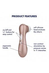 Stimulateur de clitoris Pro 2 Satisfyer - CC597113